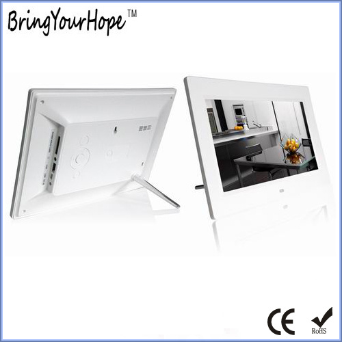 Hot Selling 10 Inch Plastic Digital Picture Frame as Gift (XH-DPF-102B)