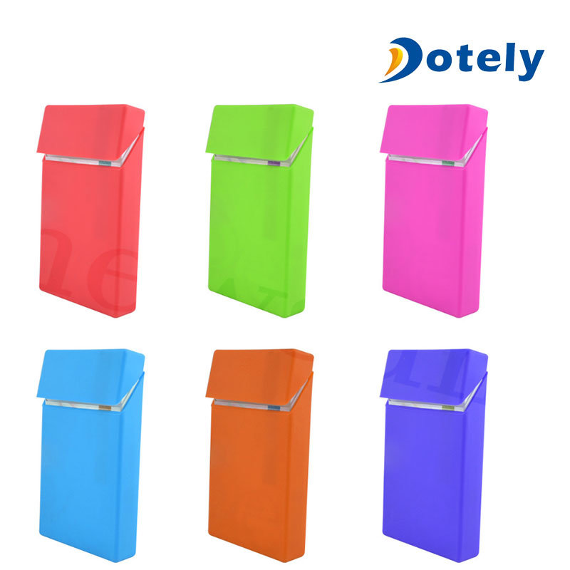 Silicone Rubber Cigarette Case Pack Holder