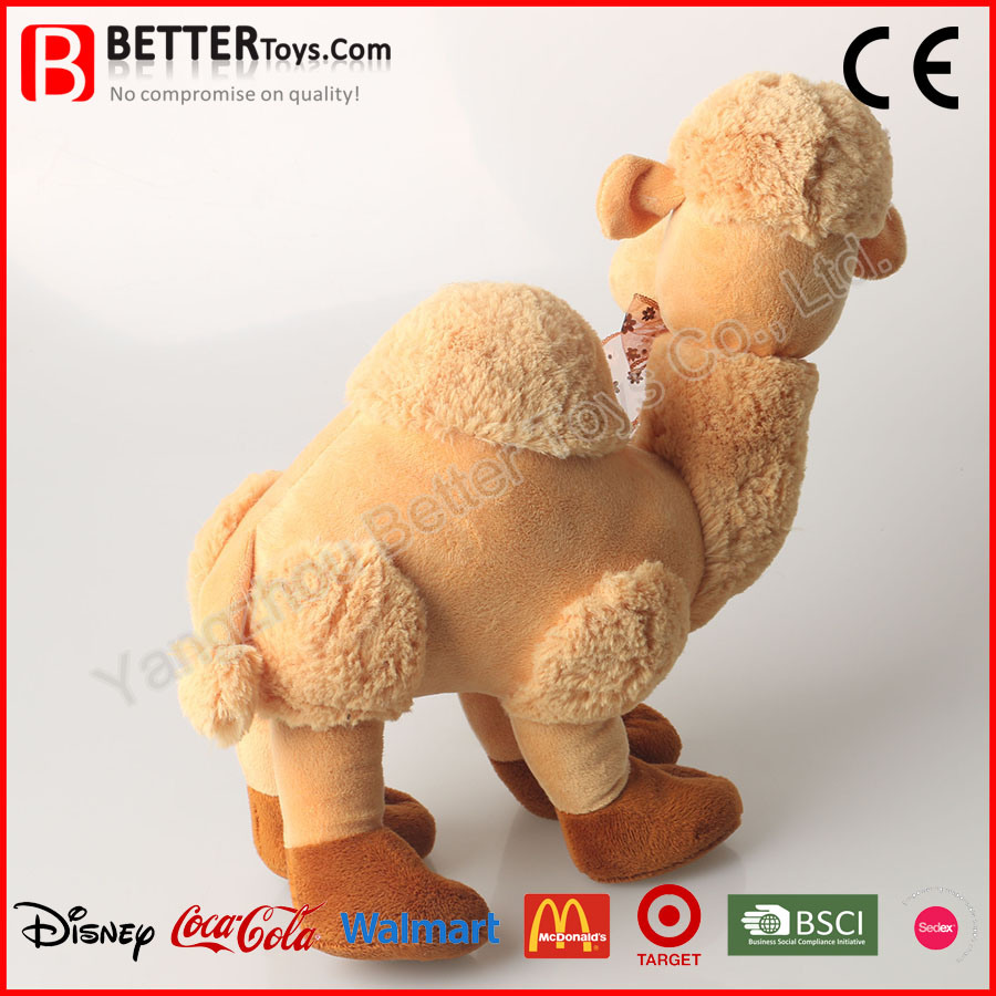 Wholesale Beautiful Stuffed Plush Soft Camel Toy