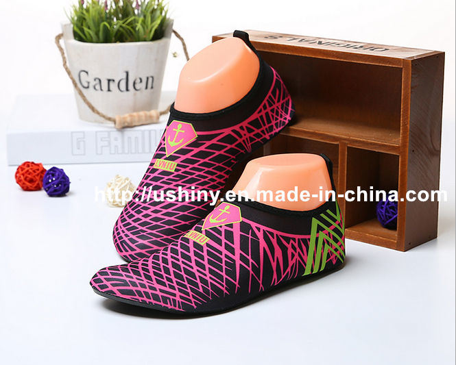 Grids Barefoot Water Skin Shoes