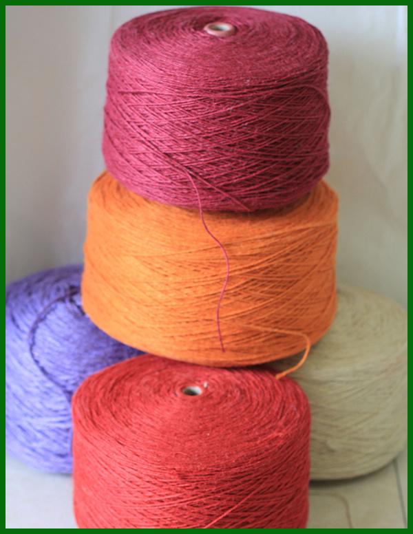 Dyed Jute Yarn (Red)