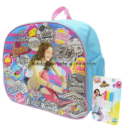 Coloreable Backpack Soy Luna