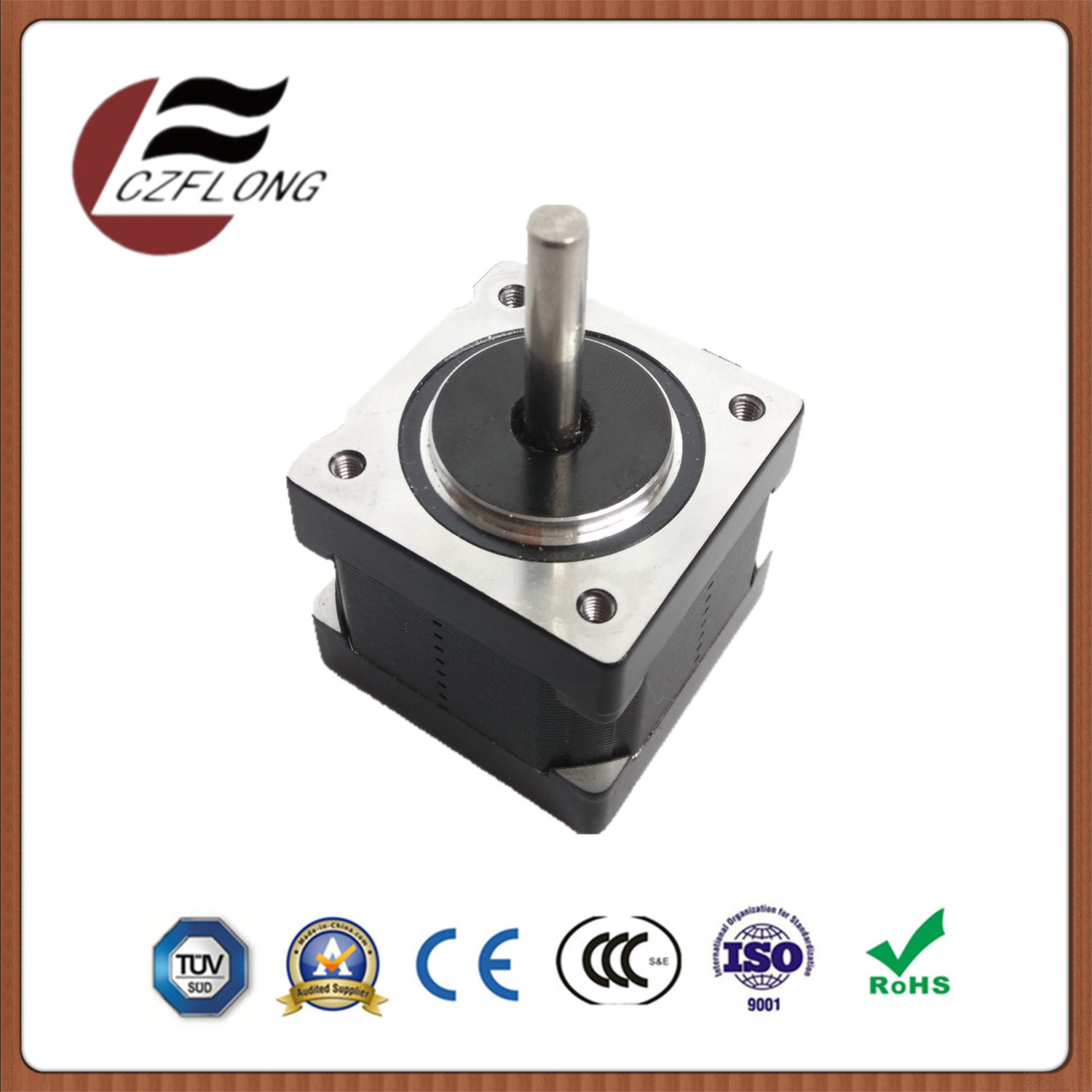 Small Noise 35mm Stepper Motor for CNC Automation Equipment