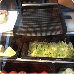 Teflon Non Stick Oven Chip BBQ Basket