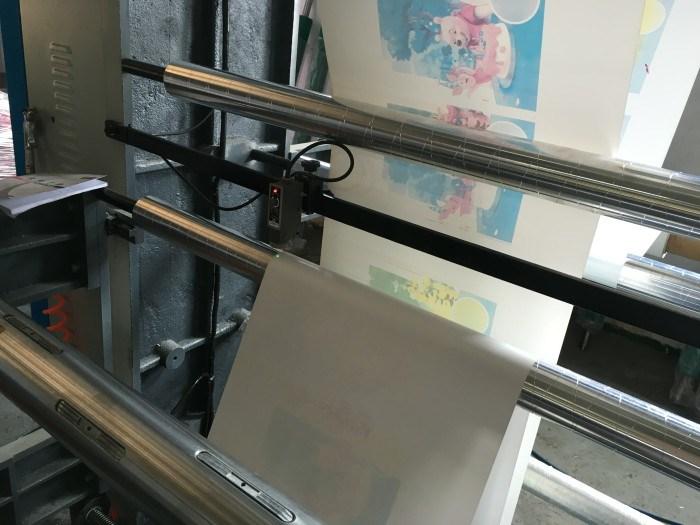 PE Film Extrusion Machine with Flexo Printing Machine Inline (DC-SJ600)