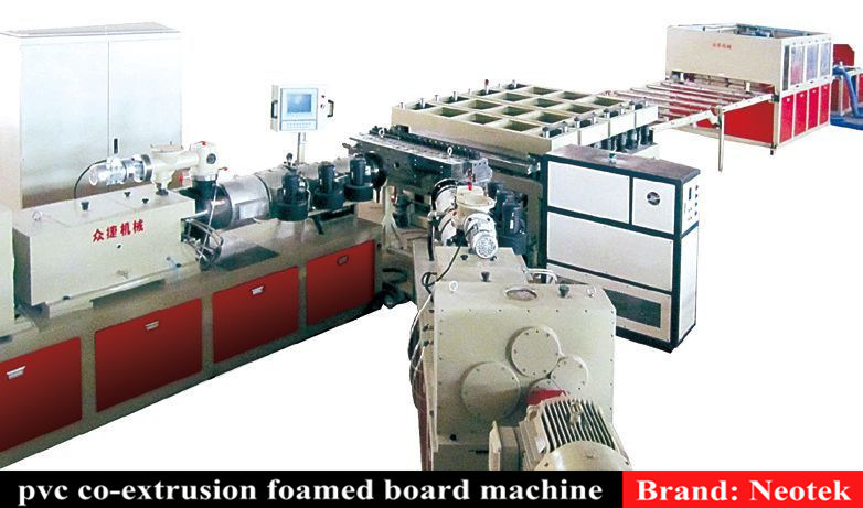 pvc foam board machine