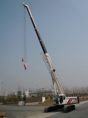 60 Ton Telescopic Boom Crawler Crane SMQ600A