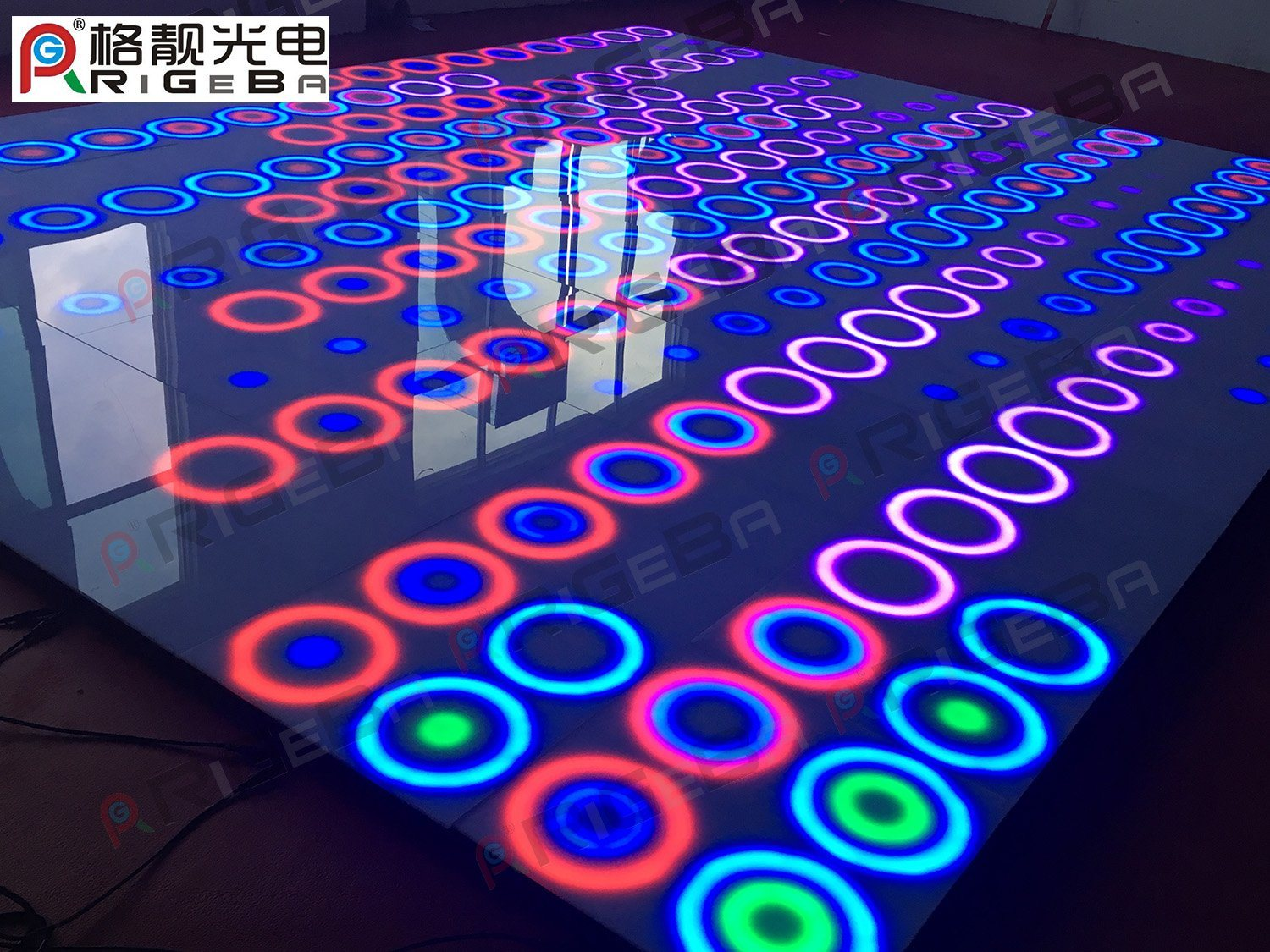 Patent New Design Dynamic Stage Light LED Disco Dance Floor