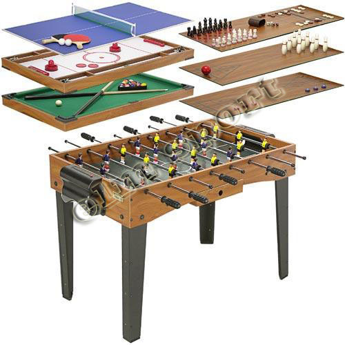 China 12 in 1 multi game table soccer table china game for 12 in 1 table games