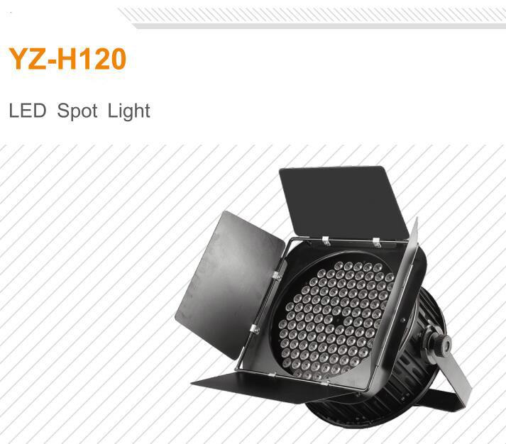 Professional Studio Lighting DMX512 120PCS 3W LED Spot Studio Light