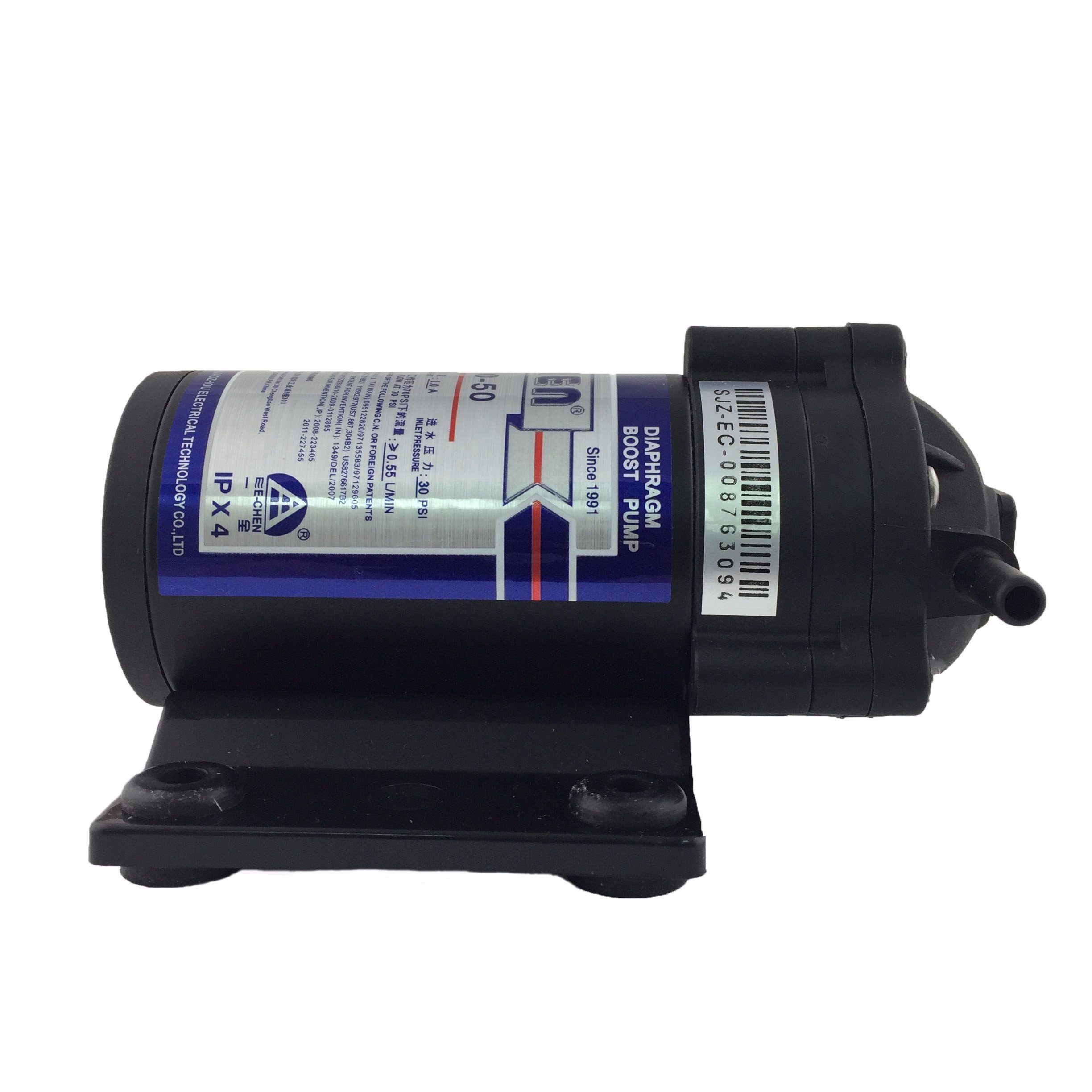 The Smallest Diaphragm RO Booster Pump 800 Series 75gpd