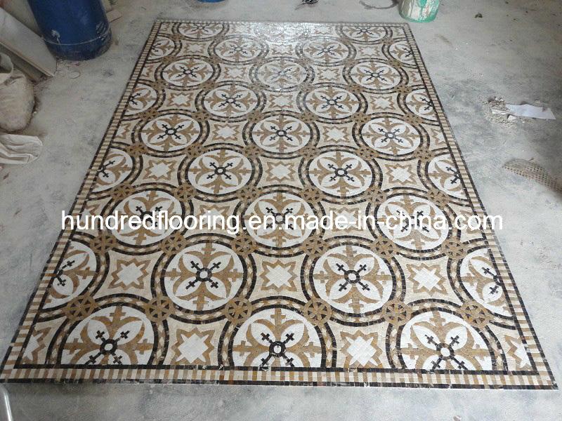 Stone Mosaic Floor Tile Marble Mosaic Pattern (STP88)