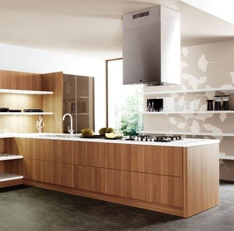 Wood veneer kitchen cabinetsbooth china kitchen cabinets for Veneer for kitchen cabinets