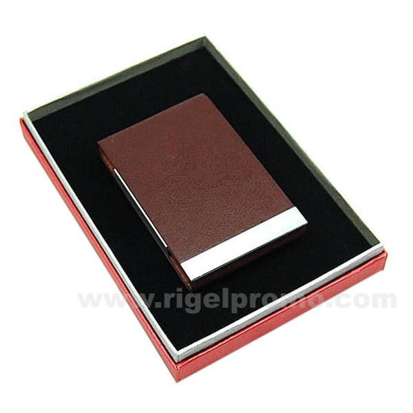 China Leather Business Card Holder 445B China Business