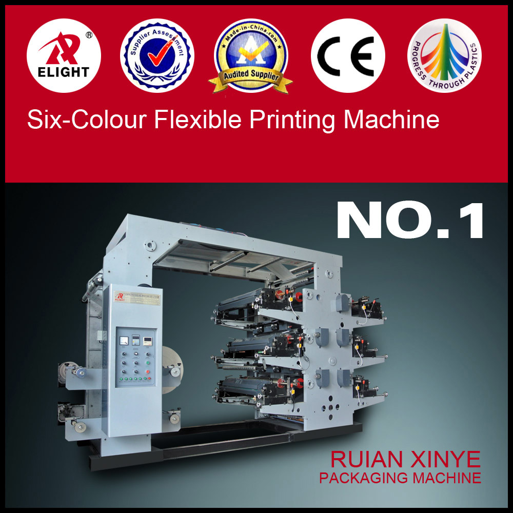 Six-Colour Flexible Printing Machine