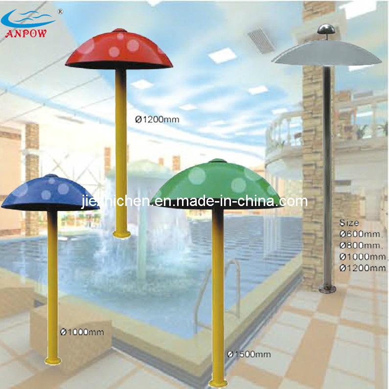 Swimming Pool Water Park Play Equipment Acrylic Water Mushroom