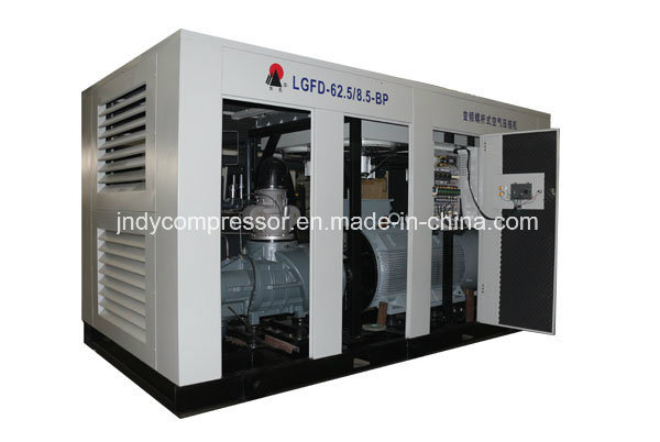 Stationary Direct Driven Rotary Screw Compressor