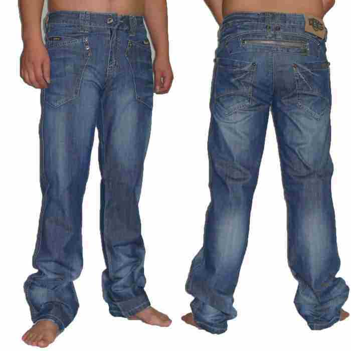 Men′s Blue Denim Jeans (MF08)