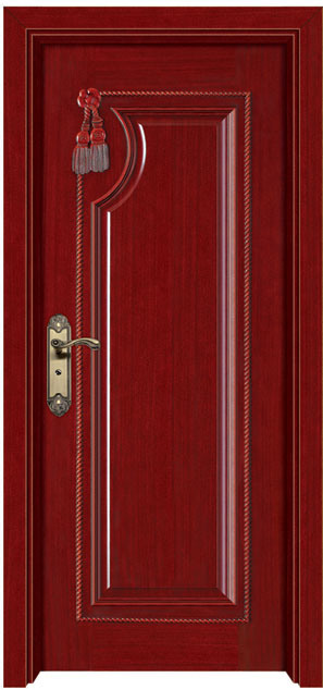 Solid Composite Wood Door (YFM-8001)