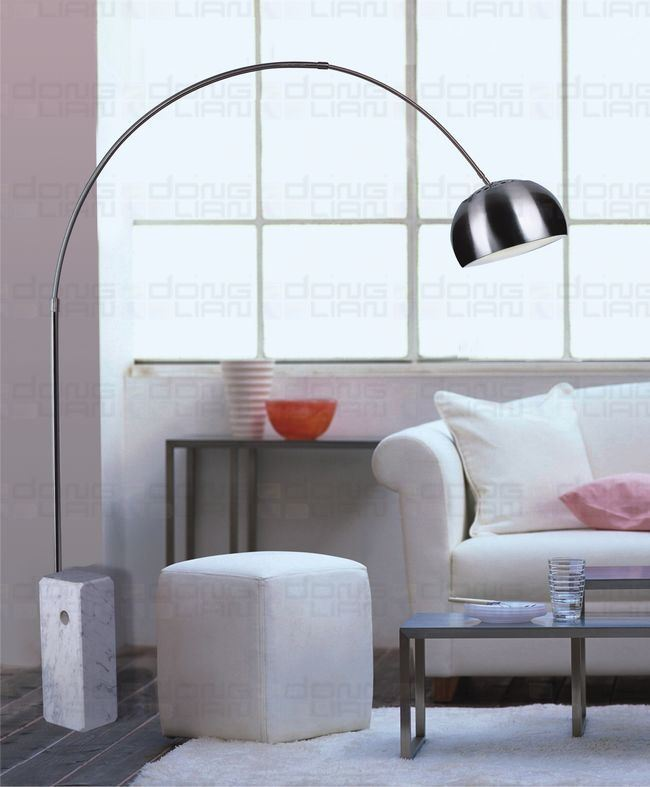 Big Floor Lamps | Awesome Interior:Large Curved Floor Lamps Favorite Large Arc Floor Lamp,Lighting