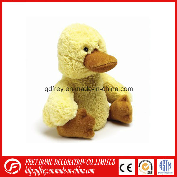 Cute Plush Duck Bed Warmer Toy