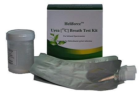 in Vitro Diagnostic Kit Urea Breath Test Kit for Diagnosis of H. Pylori (13C)