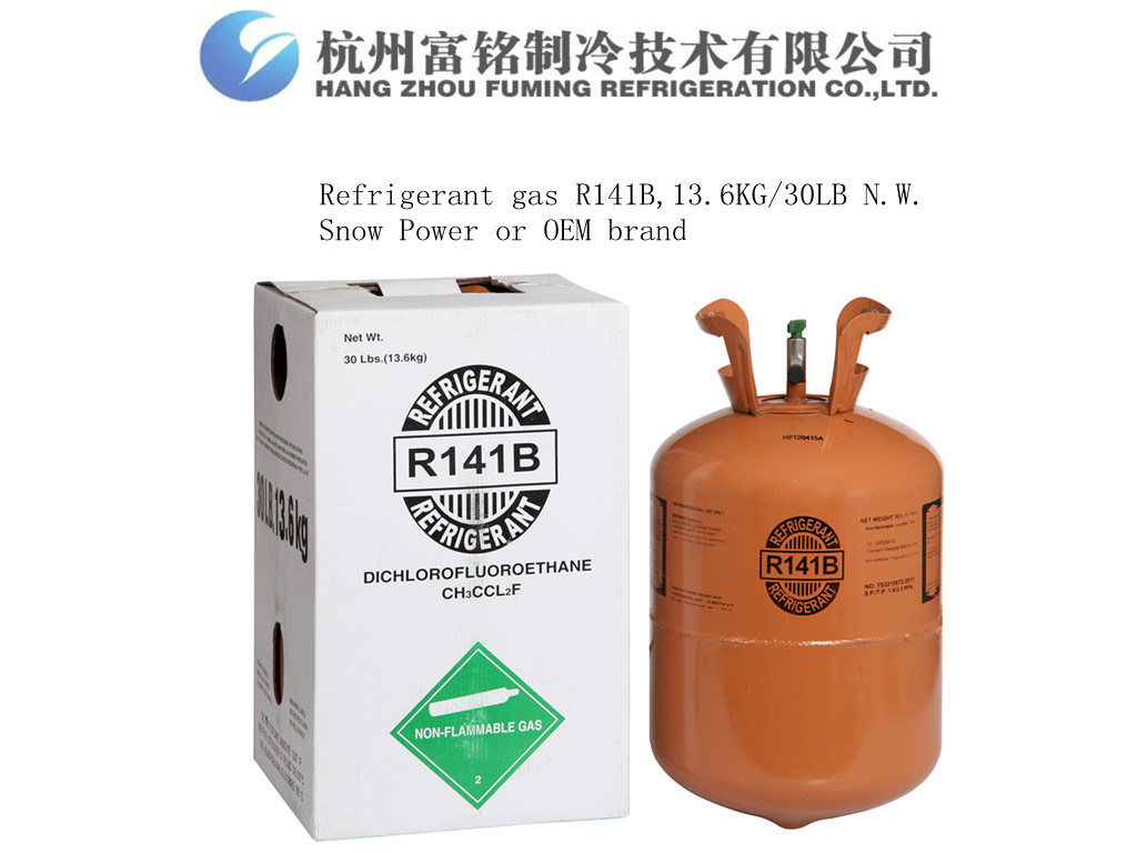 China R141b, Foamer or Refrigerant, 13.6kg/30lb N. W. Disposable ...