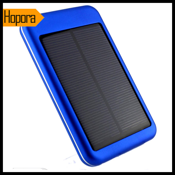 Universal 5000mAh Solar Panel Power Bank Charger Mobile Cell Phone Battery