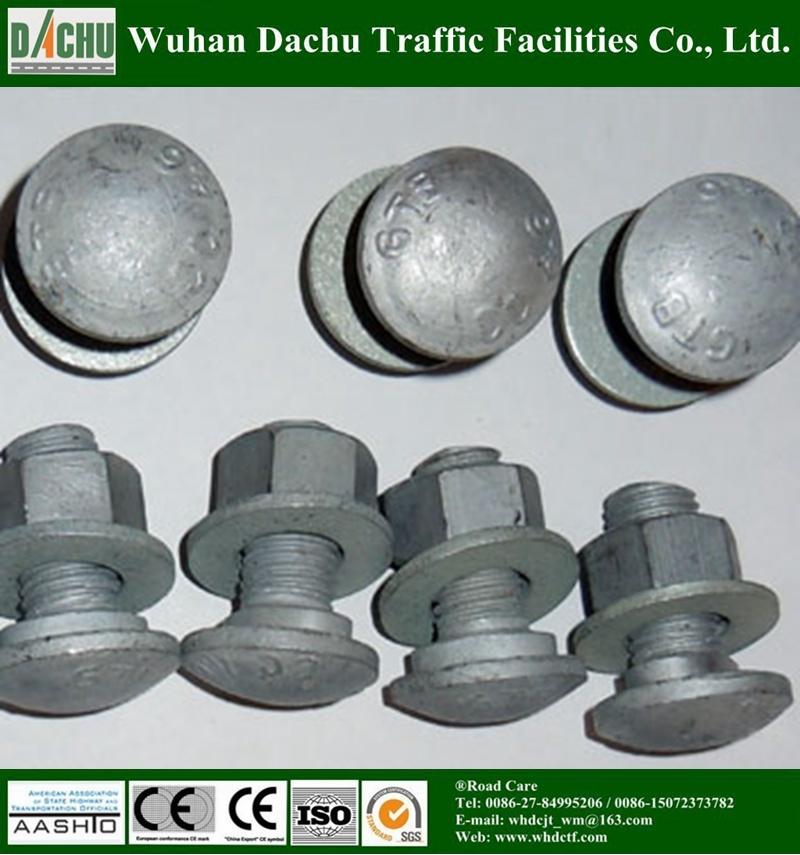 Carbon Steel Mushroom Head Guardrail Bolt and Nut