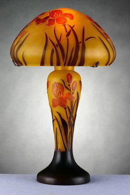 Ceramic Lamps (FLT0953A) - China art glass lamps, galle glass lamps