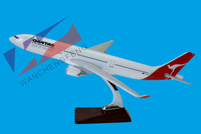 Resin Plane Model Customized Model Plane Quantas A330 Airplane Model