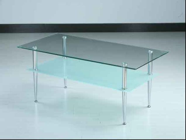 China Clear Frosted Glass Coffee Table Simple Design Ct015 Photos Pictures Made In
