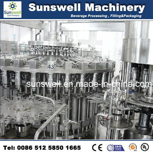 Automatic Hot Production Line Furit Juice Filling Machine (RCGF 24-24-8)