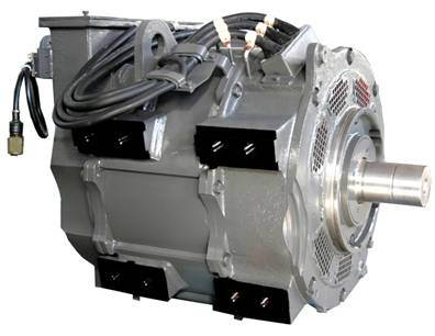 China Ac Traction Motor Permanent Magnet Motor Clutch
