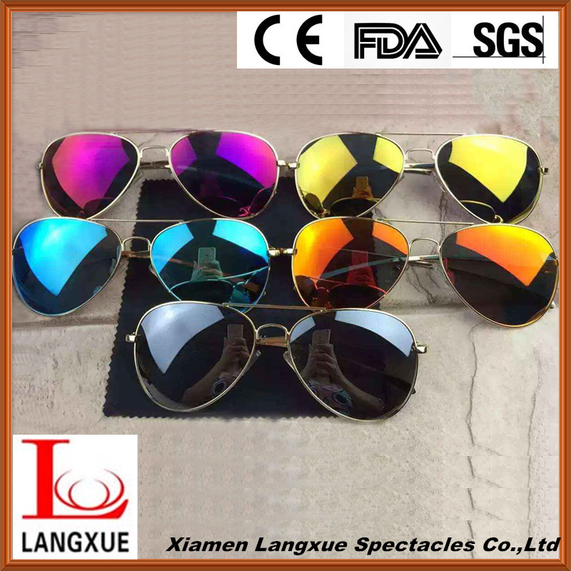 2016 Fashion Mirror Polarized Sunglasses for Man/Woman