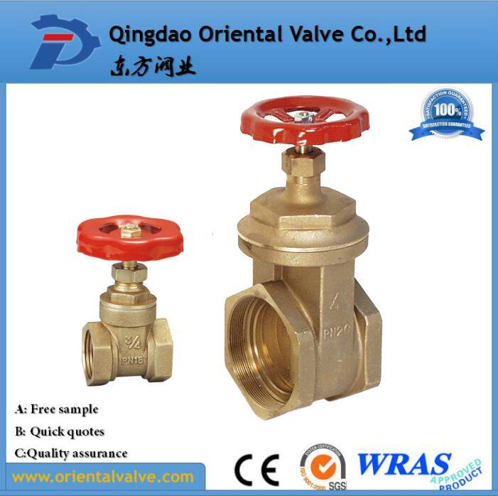 High Quality, Brass Gate Valve with Full Brass Material, Pn16
