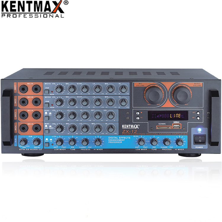 Professional Echo HiFi Stereo Digital Mixing Tube Amplifier
