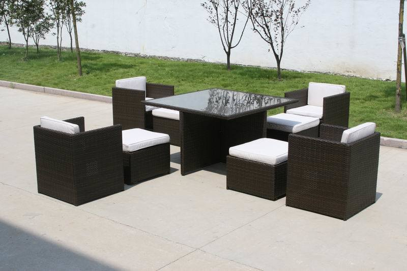 Rattan Furniture Set (ET1095) - China Outdoor Wicker Furniture, Rattan ...