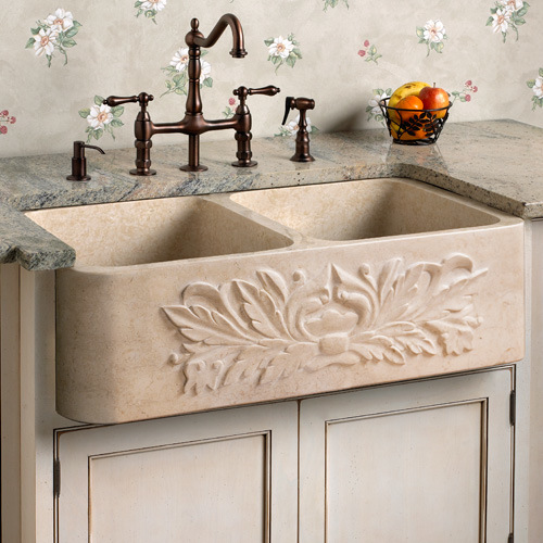 Marble Kitchen Sink Galala Beige
