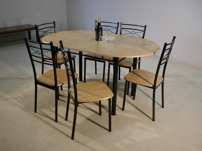 Dining Table and Chair Set [1+6] (DRS4058) - China Furniture, Dining ...