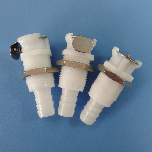 China quot pom nbr plastic quick disconnect coupling body