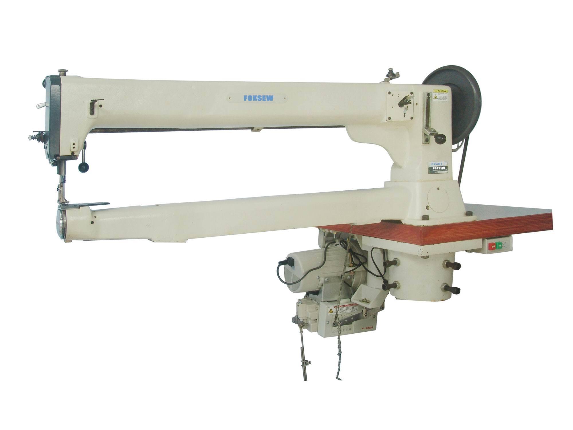 Single Needle Long Arm Unison Feed Lockstitch Machine