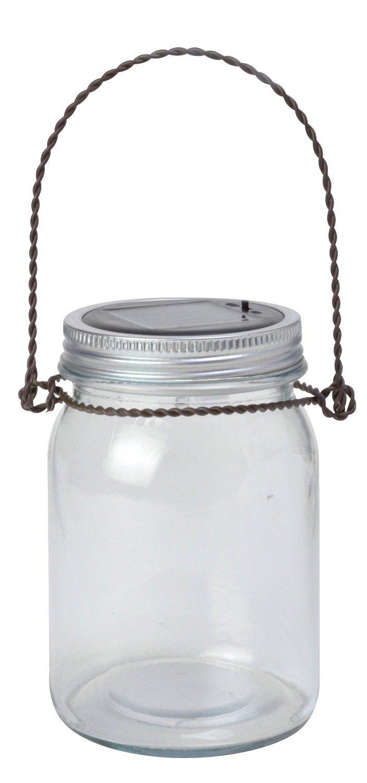 Solar Powered Decorative Jar Light LED Light