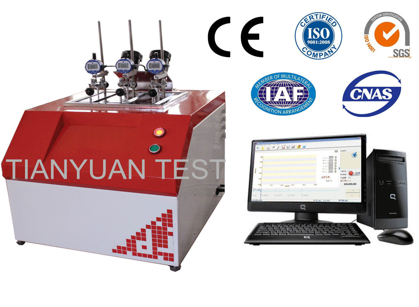 Ty-5006 Thermal Deformation Vicat Softening Point Tester
