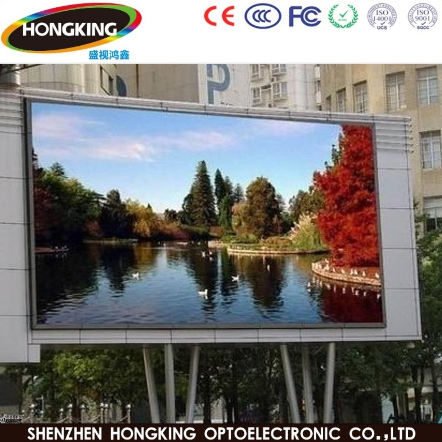 Outdoor Rental Advertising Full Color P6 LED Display Board