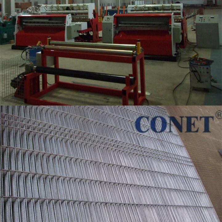1.8-3mm Low Carbon Steel Wire Mesh Welding Machine (Factory)
