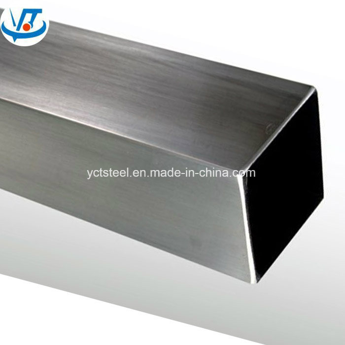 201 304 Decoration Polished Welded Stainless Tube / Stainless Steel Pipe