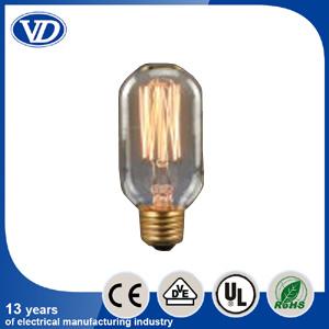 Carbon Filament Incandescent Edison Light Bulb T45