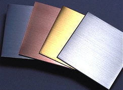 Brushed Stainless Steel Sheet AISI304-AISI316