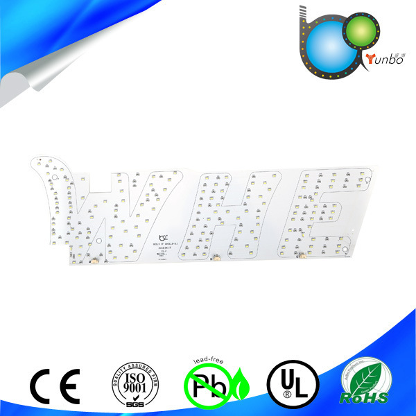 Multilayer Immersion Gold Rigid SMT Aluminum LED PCB